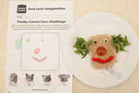 Food face design