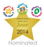 What's on 4 Junior Awards 2014