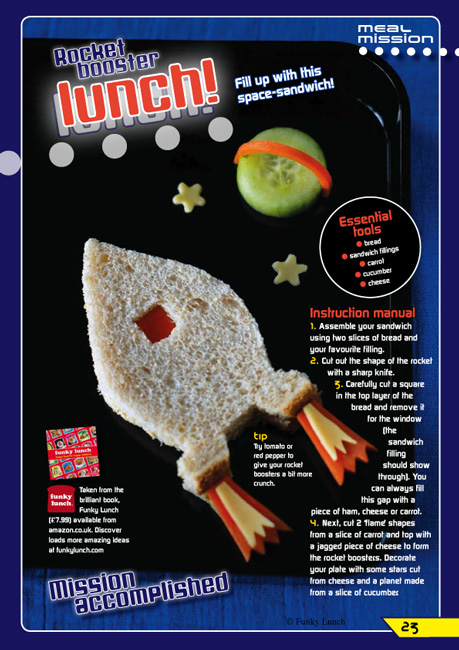 Funky Lunch TV coverage, magazine articles and newspaper