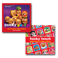 Funky Party & Funky Lunch recipe book bundle